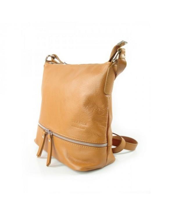 worek włoska torebka vera pelle Camel