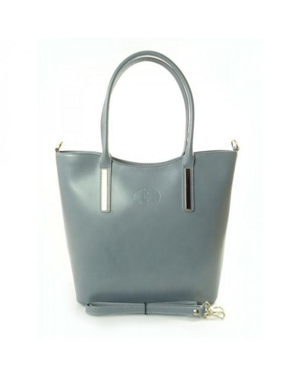 Elegancka włoska torebka na ramię i do ręki