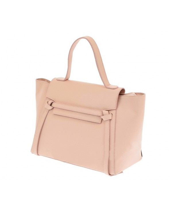 Włoska torebka a'la Celine Różowa