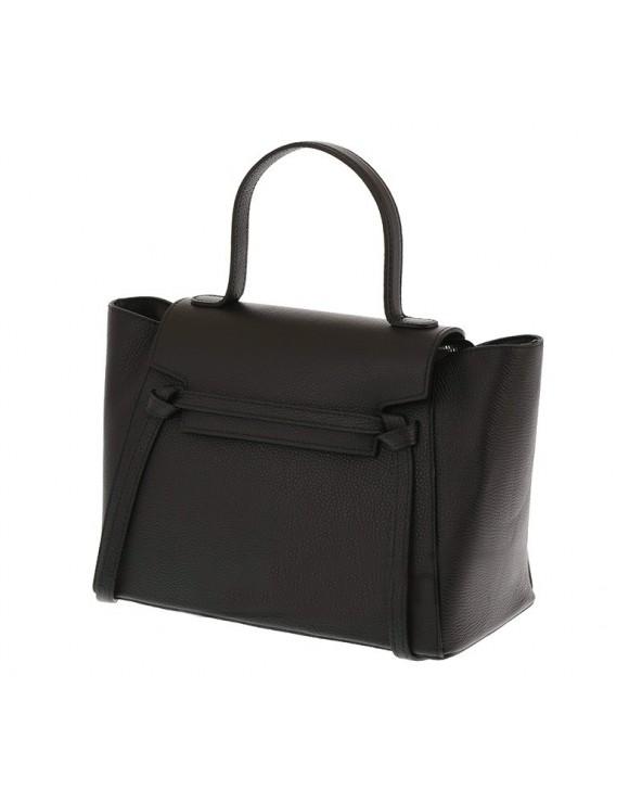 Włoska torebka a'la Celine Belt Bag Czarna