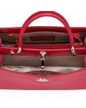 Damska torebka do ręki w letnim stylu Czerwona