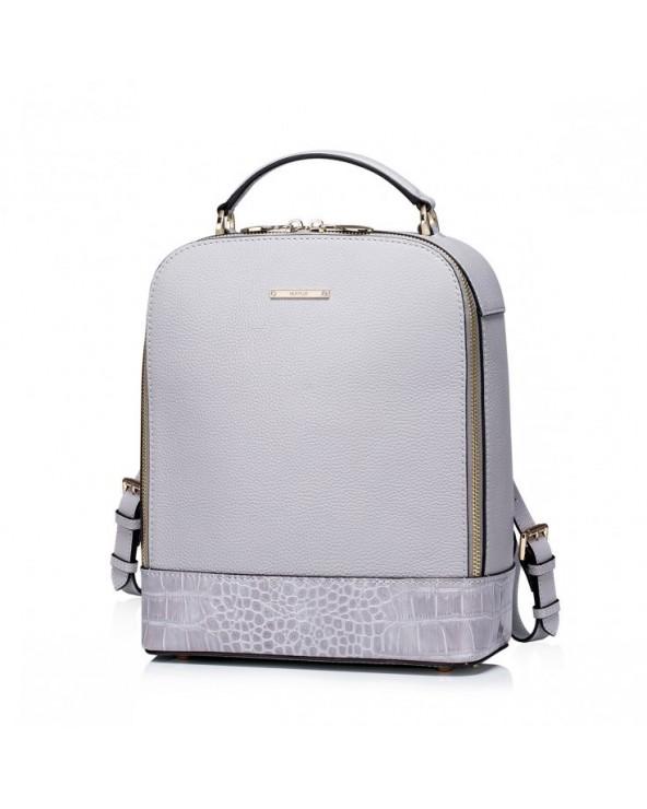 Damski plecak w minimalistycznym stylu Szary
