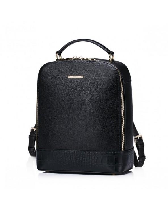 Damski plecak w minimalistycznym stylu Czarny