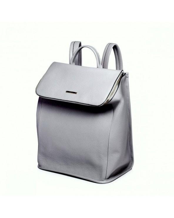Pojemny damski plecak w nowoczesnym stylu Szary