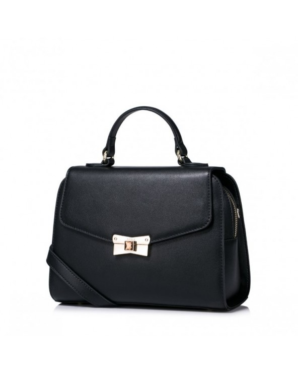 Damska torebka na ramię z jesiennej kolekcji Czarna
