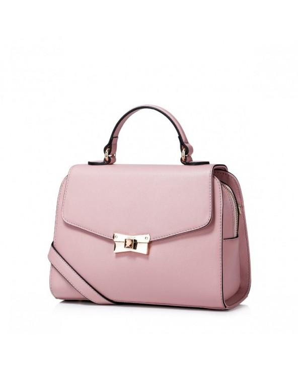 Damska torebka na ramię z jesiennej kolekcji Różowa