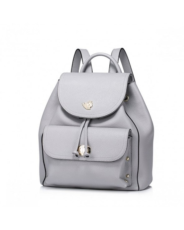 Modny damski plecak z jesiennej kolekcji Szary