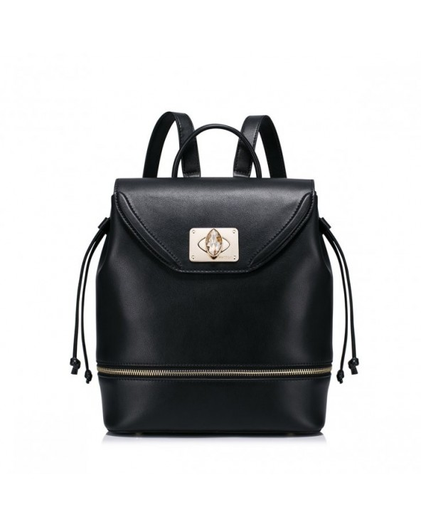 Stylowy damski plecak Czarny
