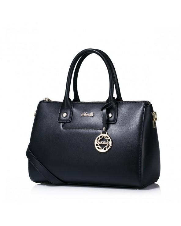 Luksusowa damska torebka z kolekcji jesiennej Czarna