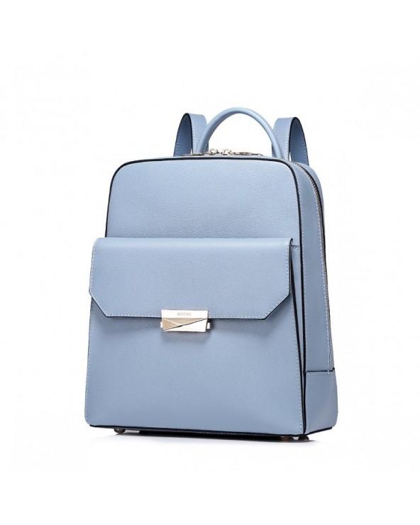 Minimalistyczny damski plecak Niebieski