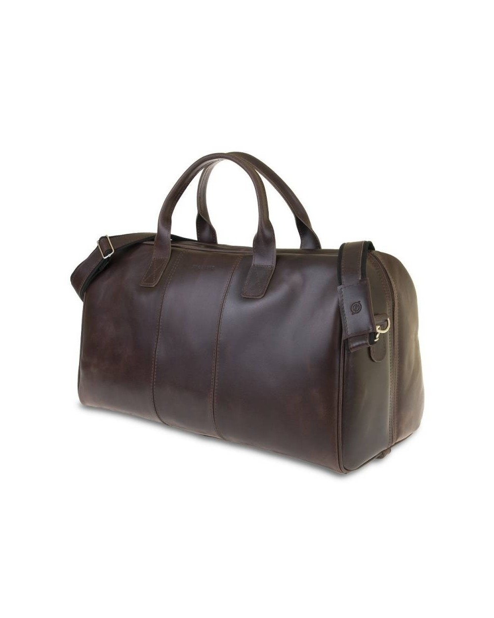 0fd704e7980a4 Podróżna torba ze skóry naturalnej Brodrene ciemny brąz - Dla niego ...