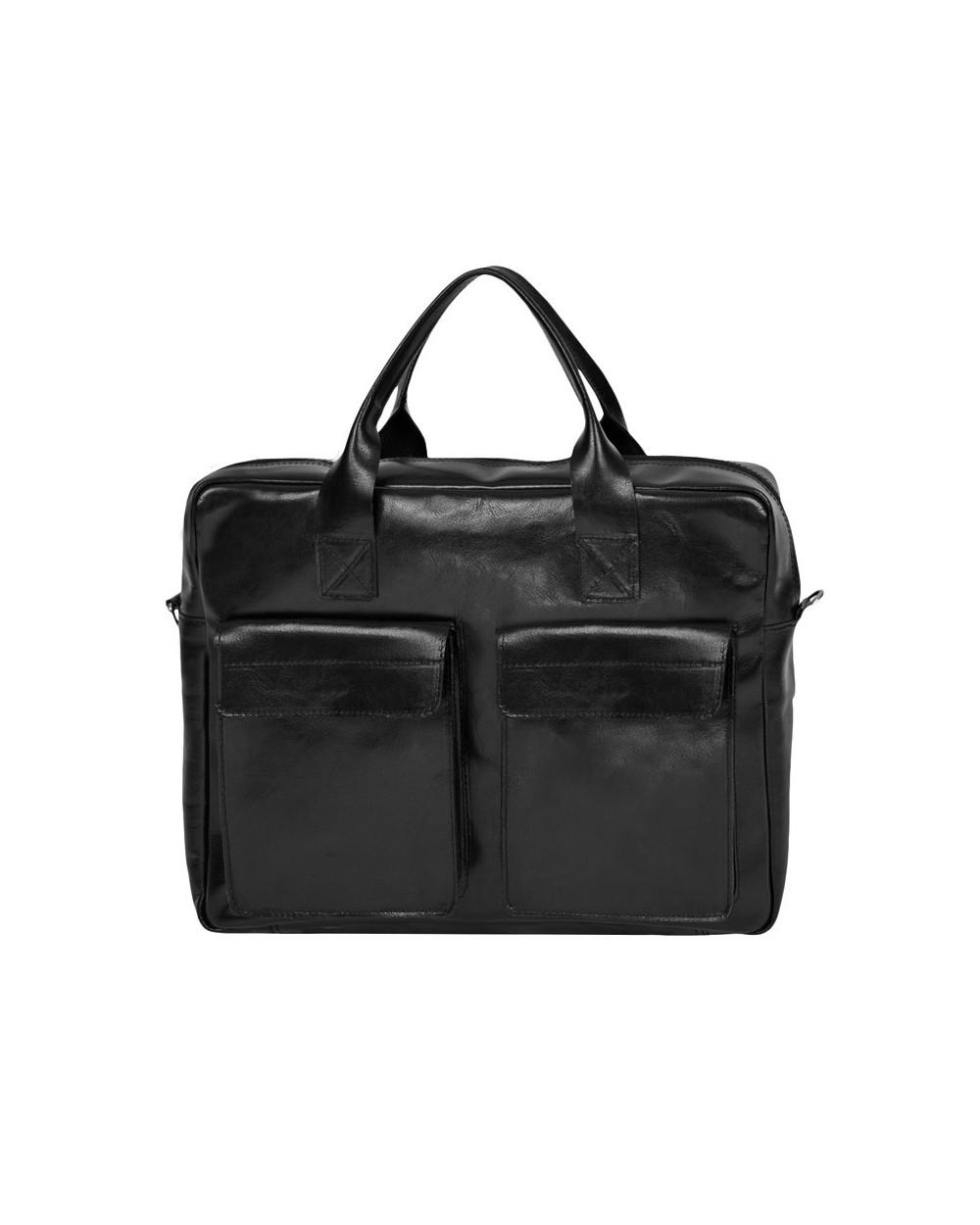 882ff94c0f0d4 Duża męska torba skórzana na laptopa czarna - Dla niego - Sklep ...