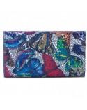 Damski portfel skórzany w motyle Giovani