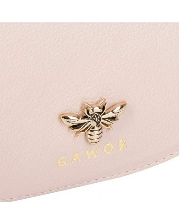 Urocza mała listonoszka z pszczołą Gawor Ines różowa