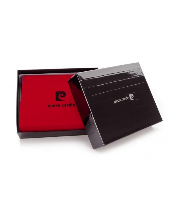 skórzany portfel męski Pierre Cardin pudełko
