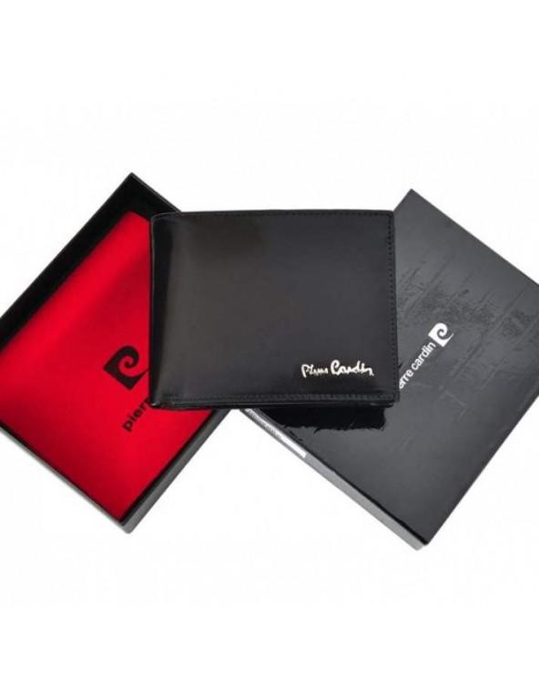 Portfel Męski skórzany Pierre Cardin Klasyczny Skórzany pudełko