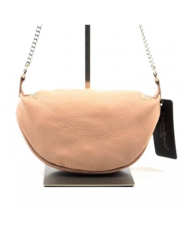 Saszetka nerka torebka z kółeczkami tył