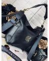 Worko plecak XL Massimo Contti torba skórzana czarna