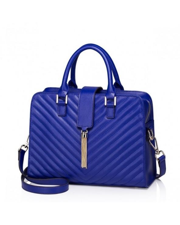 Elegancka damska torebka do ręki Niebieska
