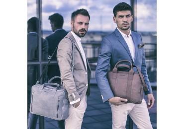 Rzeczowo o męskiej torbie