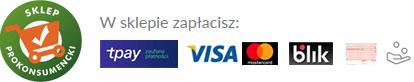 Bezpieczne płatności tPay, Blik, płatność za pobraniem, kartą kredytową, przelewem, szybkie przelewy elektroniczne